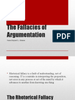 The Fallacies of Argumentation[1]