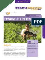 1st Quarter 2016 Lesson 5 Cornerstone Connection (Ages 15-18)