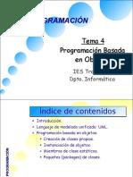 Tema 4-Programacion Basada en Objetos