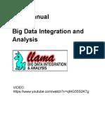 Llama - Big Data Integration and Analysis