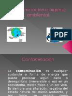 Contaminación e Higiene Ambiental