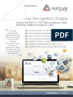 IFRS 15 Solution Brief (Aptitude Software)