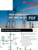 2015_12_01 - Xtera's Differentiators for SNEL Power Grid Project in DRC - For the Attention of Airtel