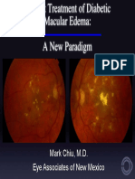 Treatment Diabetic Macular Edema