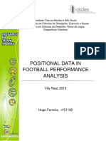 Positional Data in Football
