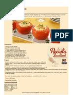 Receitas Saudaveis Tomates Recheados