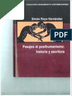 Simon Royo Pasajes Al Posthumanismo_Libro Completo1