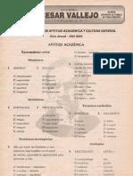 PRIMER EXAMEN DE APTITUD ACADÉMICA Y CULTURA GENERAL Ciclo Anual - UNI 2005 Lima, 18 de marzo de 2004