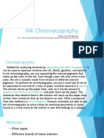 ink chromatography