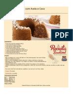 Receitas Saudaveis Bolo de Chocolate Com Aveia e Coco