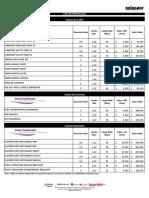 Lista de Precios DICIEMBRE 2015