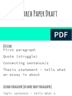 draft the research paper