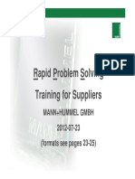 8D Training for Suppliers