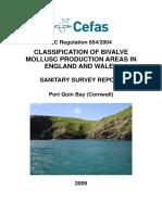 Final Port Quin Bay Sanitary Survey Report 2009
