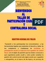 Participacion Ciudadana y Control Social