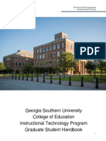 ITEC Sudent Handbook2016