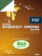 Energy Drink List