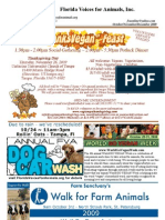 Florida Voices for Animals Newsletter [2009, 4th quarter]