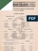 EXAMEN DE ENTRADA DE APTITUD ACADÉMICA Y CULTURA GENERAL Ciclo Anual - UNI 2005 Lima, 04 de marzo de 2004