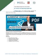 Press Release Curso Aumentar Vendas com Marketing Digital 360