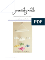 Amigurumi Baby Mobile - Translated Crochet Pattern