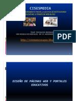 DISEÑO DE WEB EDUCATIVA