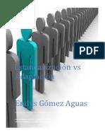 Estandarizacion vs Adaptacion Evidencia 5