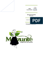 Principales Competidores Cosméticos Mazunte