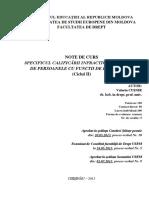004 - Specificul Calificarii Infractiunilor Comise de Persoanele Cu Functii de Raspundere