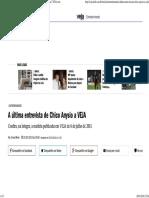 A Última Entrevista de Chico Anysio à Revista VEJA (Ano 2011)