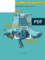 This Is Only a Test (Excerpt & Book Club Guide)