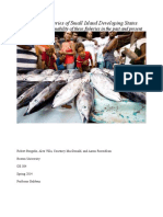 The Coastal Fisheries of Small Island Developing States