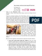 Belgrade 2015 Rotaract Global MUN Report