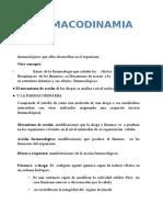Clase de Farmacodinamica Prof Coromoto