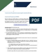 Cash Flow Metoda Directa