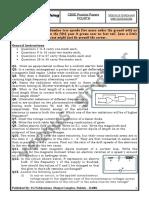 CBSE Practice Paper 4