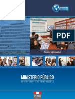 Dossier Informativo del Observatorio de Criminalidad del Ministerio Público 2015