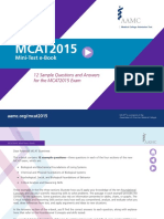 MCAT MiniTest eBook