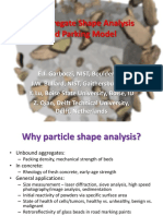 3D Aggregate Shape Analysisand Parking Model