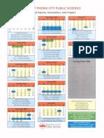 Phenix City's school calendars for 2016-17, 2017-18