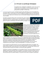 Prenez ce guide pour réussir au jardinage biologique