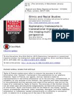 Explanatory Frameworks Transnationa Multiscalar 2015