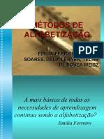 ALFABETIZAÇÃO LETRAMENTO