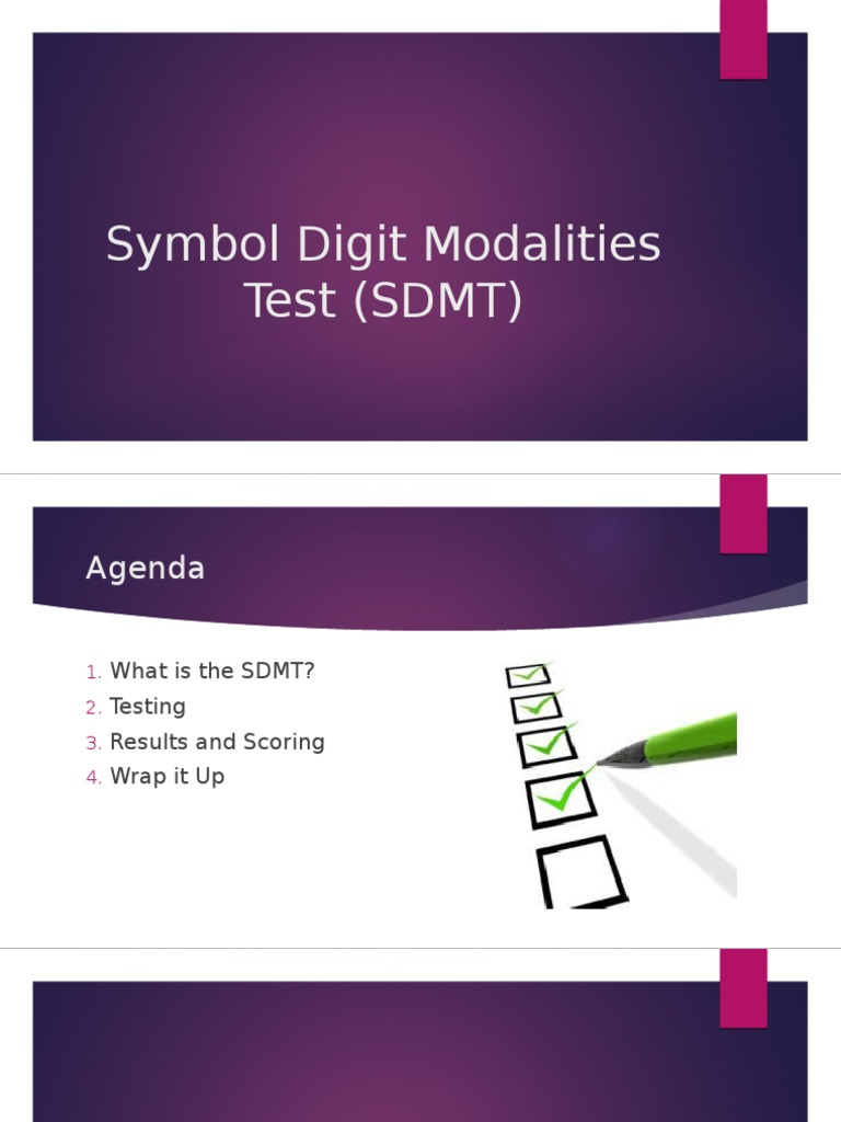 sdmt test interpretation