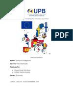 Unión Europea Institucionalidad