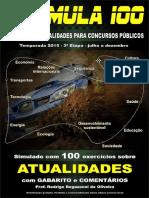 Atualidades - Simulado Fórmula 100