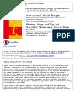 Between Vulgar and Ruptural Dialectics- Reassessing Lenin on Hegel