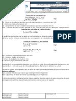 Cálculo Da Força Entre Barramentos Durante Curto