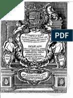 Compendio de Los Fundamentos de La Verdadera Destreza-Ettenhard