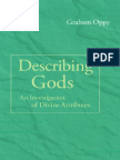 Graham Oppy - Describing Gods - An Investigation of Divine Attributes